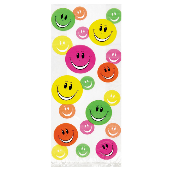 Smiley Cello Bag - Pack of 20 Product Image