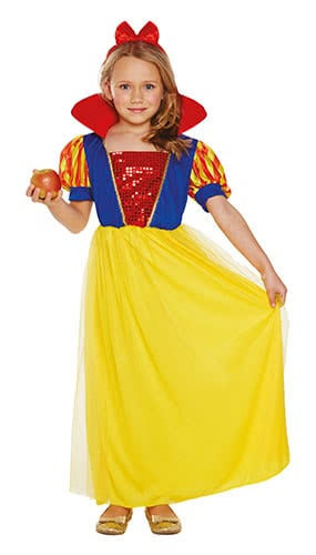 Snow Girl Children Fancy Dress Costume 10-12 Years - Large Product Image