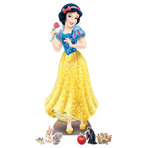 Snow White Cardboard Cutouts Decoration Kit