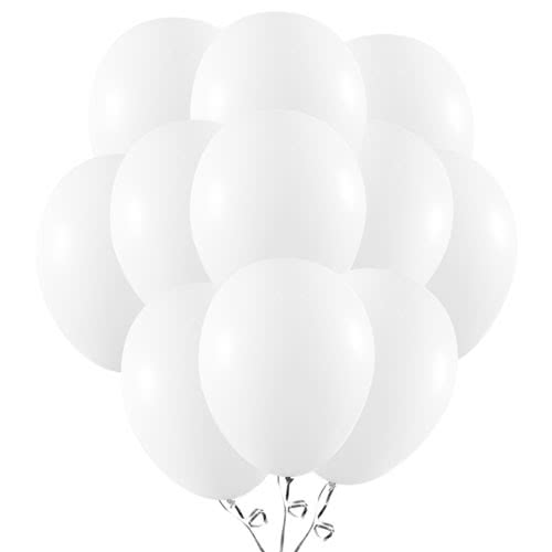 Snow White Latex Balloons 23cm / 9Inch - Pack of 50 Product Image
