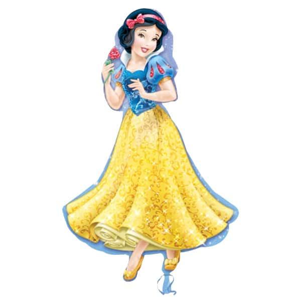 Snow White Princess Helium Foil Giant Balloon 61cm / 24 in