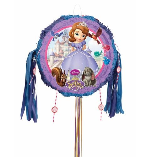 Sofia The First Pull String Pinata Product Image