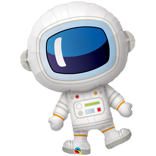 Space Astronaut Helium Foil Giant Qualatex Balloon 94cm / 37  in Product Image
