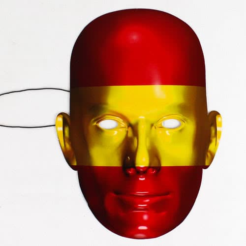 Spain Flag Face Mask Product Image