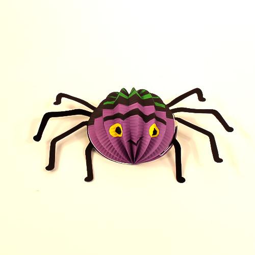 Spider Halloween 3D Honeycomb Hanging Decorations 29cm