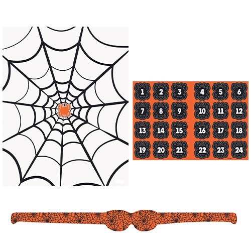 Spider Halloween Party Game