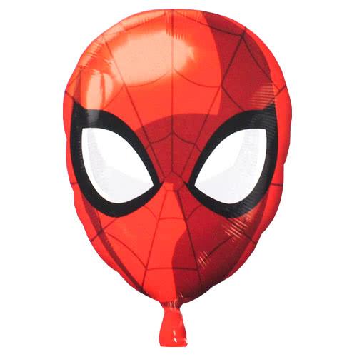 Spider-Man Head Junior Shape Foil Helium Balloon 43cm / 17Inch