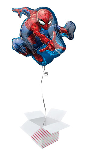Spider-Man Helium Foil Giant Balloon - Inflated Balloon in a Box Product Image