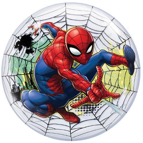 Spider-Man Web Bubble Helium Qualatex Balloon 56cm / 22 in Product Image