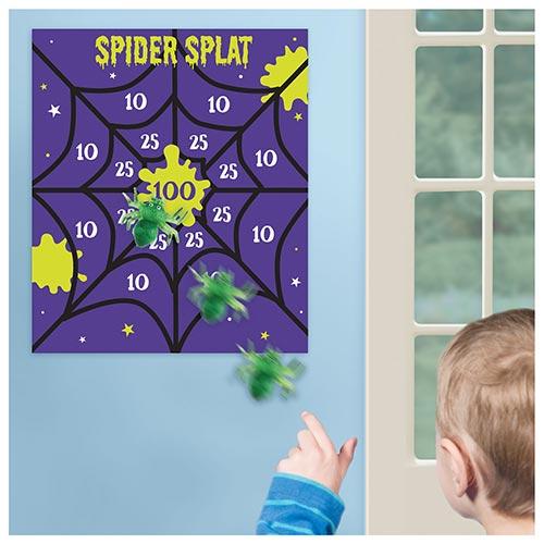 Spider Splat Halloween Party Game