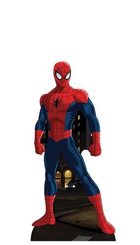 Spiderman Mini Cardboard Cutout - 96cm