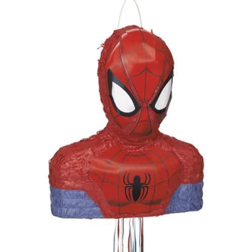 Spiderman Pull String Pinata Product Image