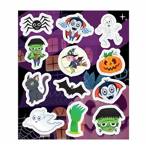 Spooky Halloween Sticker Sheet Product Image