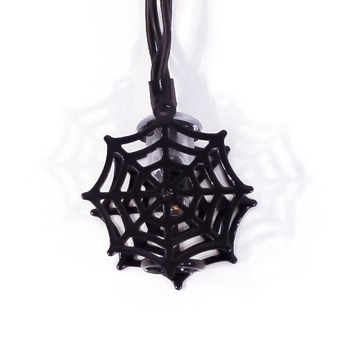 Spooky Spider Web Halloween String Lights Decorations 150cm Product Gallery Image