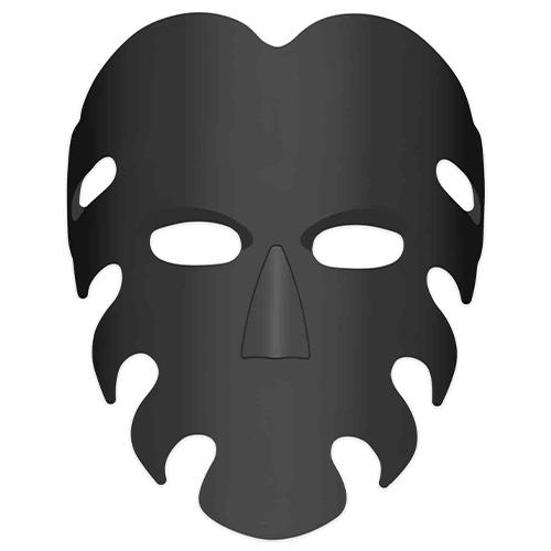 Squid Game Inspired Server Cardboard Face Mask