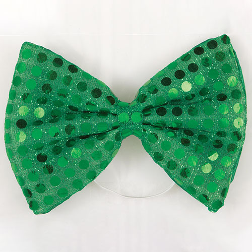 St. Patrick's Day Bow Tie Fancy Dress Product Image