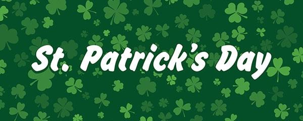 St. Patrick's Day PVC Party Sign Decoration 60cm x 25cm Product Image