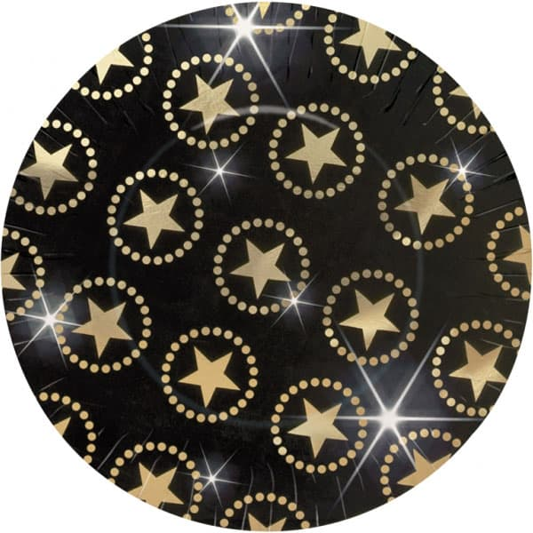 Star Attraction Paper Plate - 10.6 Inches / 27cm