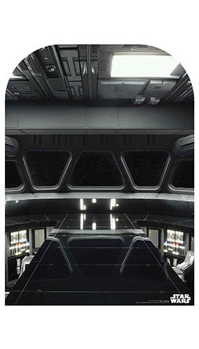Star Destroyer Bridge Child Size Star Wars Photo Backdrop Cardboard Cutout 130cm Product Image