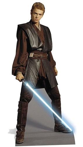 Star Wars Anakin Lifesize Cardboard Cutout - 180cm Product Image