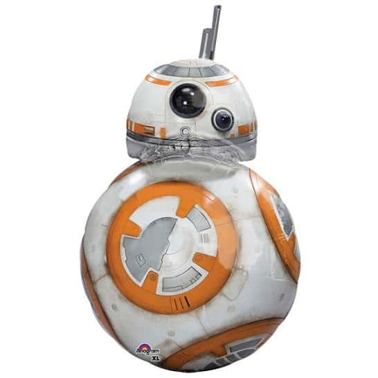 Star Wars BB8 Helium Foil Giant Balloon 83cm / 33 in Product Image