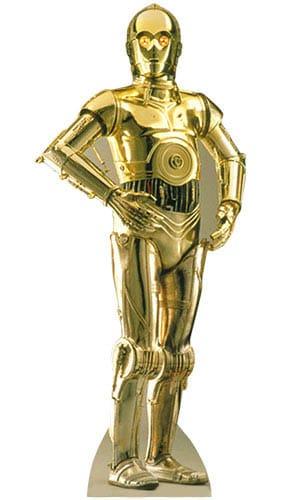 Star Wars C-3PO Lifesize Cardboard Cutout - 176cm Product Image
