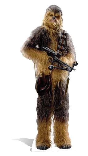 Star Wars Chewbacca Lifesize Cardboard Cutout - 193cm Product Image