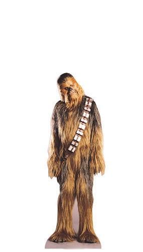 Star Wars Chewbacca Mini Cardboard Cutout - 96cm Product Image