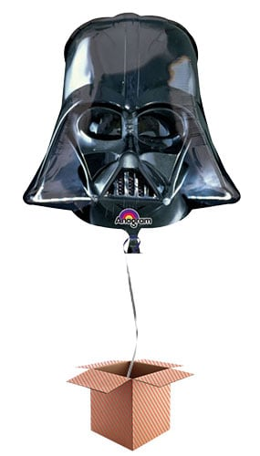 Star Wars Darth Vader Helium Foil Giant Balloon - Inflated Balloon in a Box Product Image