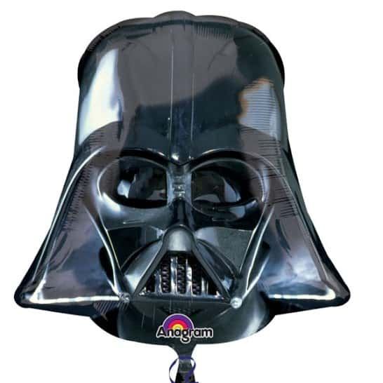 Star Wars Darth Vader Helium Foil Giant Balloon 63cm / 25 in Product Image
