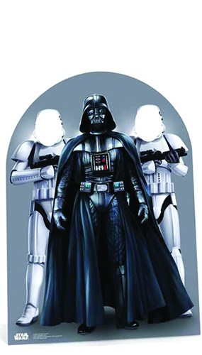 Star Wars Darth Vader Child Size Stand In Cardboard Cutout - 133cm Product Image