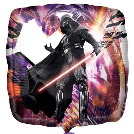 Star Wars Darth Vader Foil Helium Balloon 43cm / 17Inch Product Image