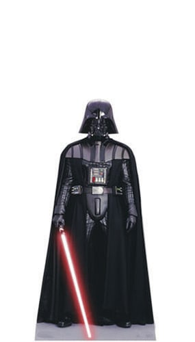 Star Wars Darth Vader Mini Cardboard Cutout - 95cm Product Image