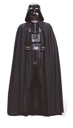 Star Wars Darth Vader Sith Lord Lifesize Cardboard Cutout - 194cm Product Image