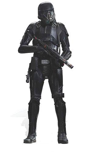 Star Wars Deathtrooper Lifesize Cardboard Cutout - 177cm Product Image