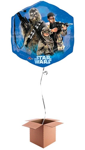 Star Wars Force Awakens Helium Foil Giant Balloon - Inflated Balloon in a Box Product Image