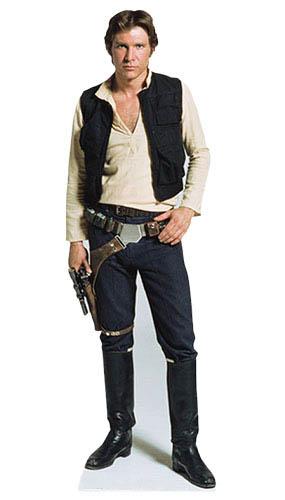 Star Wars Han Solo Lifesize Cardboard Cutout - 183cm Product Image