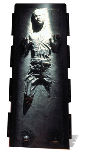 Star Wars Han Solo In Carbonite Lifesize Cardboard Cutout - 191cm Product Image