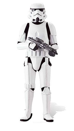 Star Wars Imperial Stormtrooper Lifesize Cardboard Cutout - 180cm Product Image
