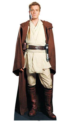 Star Wars Obi Wan Kenobi Lifesize Cardboard Cutout - 176cm Product Image