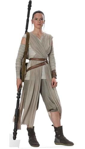 Star Wars Rey Lifesize Cardboard Cutout - 188cm Product Image
