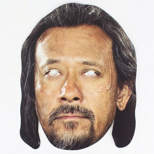 Star Wars Rogue One Baze Cardboard Face Mask Product Image