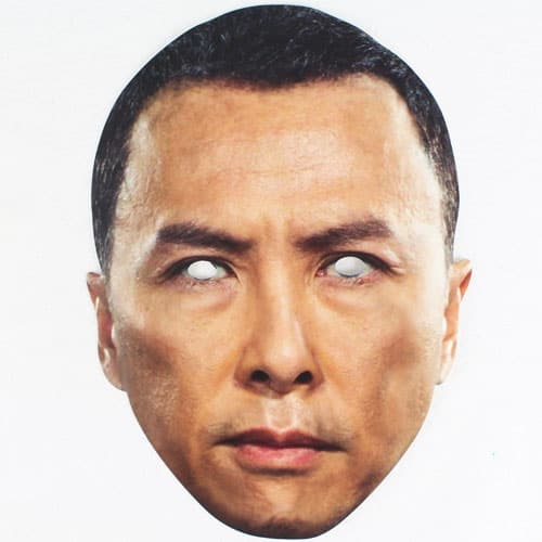 Star Wars Rogue One Chirrut Cardboard Face Mask Product Image