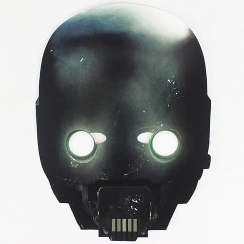 Star Wars Rogue One K-2SO Cardboard Face Mask Product Image