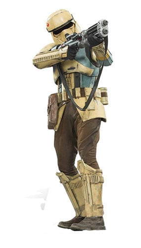 Star Wars Shoretrooper Lifesize Cardboard Cutout - 178cm Product Image