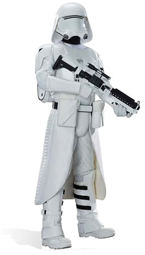 Star Wars Snowtrooper Lifesize Cardboard Cutout - 182cm Product Image