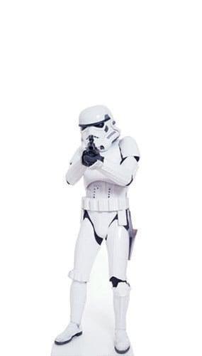 Star Wars Stormtrooper Mini Cardboard Cutout - 96cm Product Image