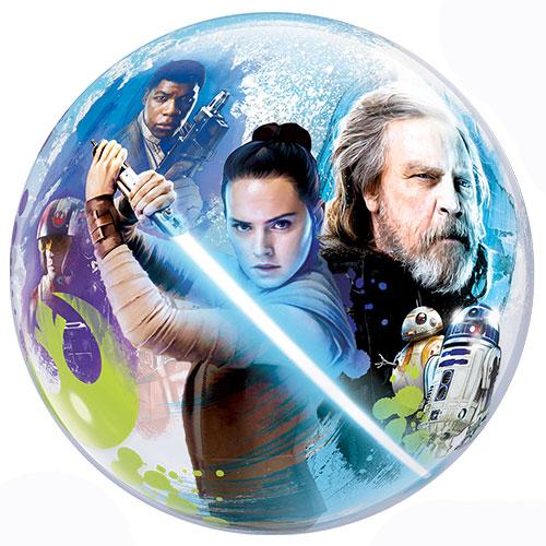 Star Wars The Last Jedi Bubble Helium Qualatex Balloon 56cm / 22 in Product Image