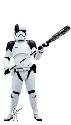 Star Wars The Last Jedi Executioner Trooper Lifesize Cardboard Cutout 181cm Product Image