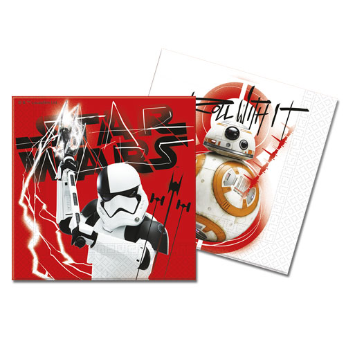 Star Wars The Last Jedi Luncheon Napkins 33cm 2Ply - Pack of 20 Product Gallery Image